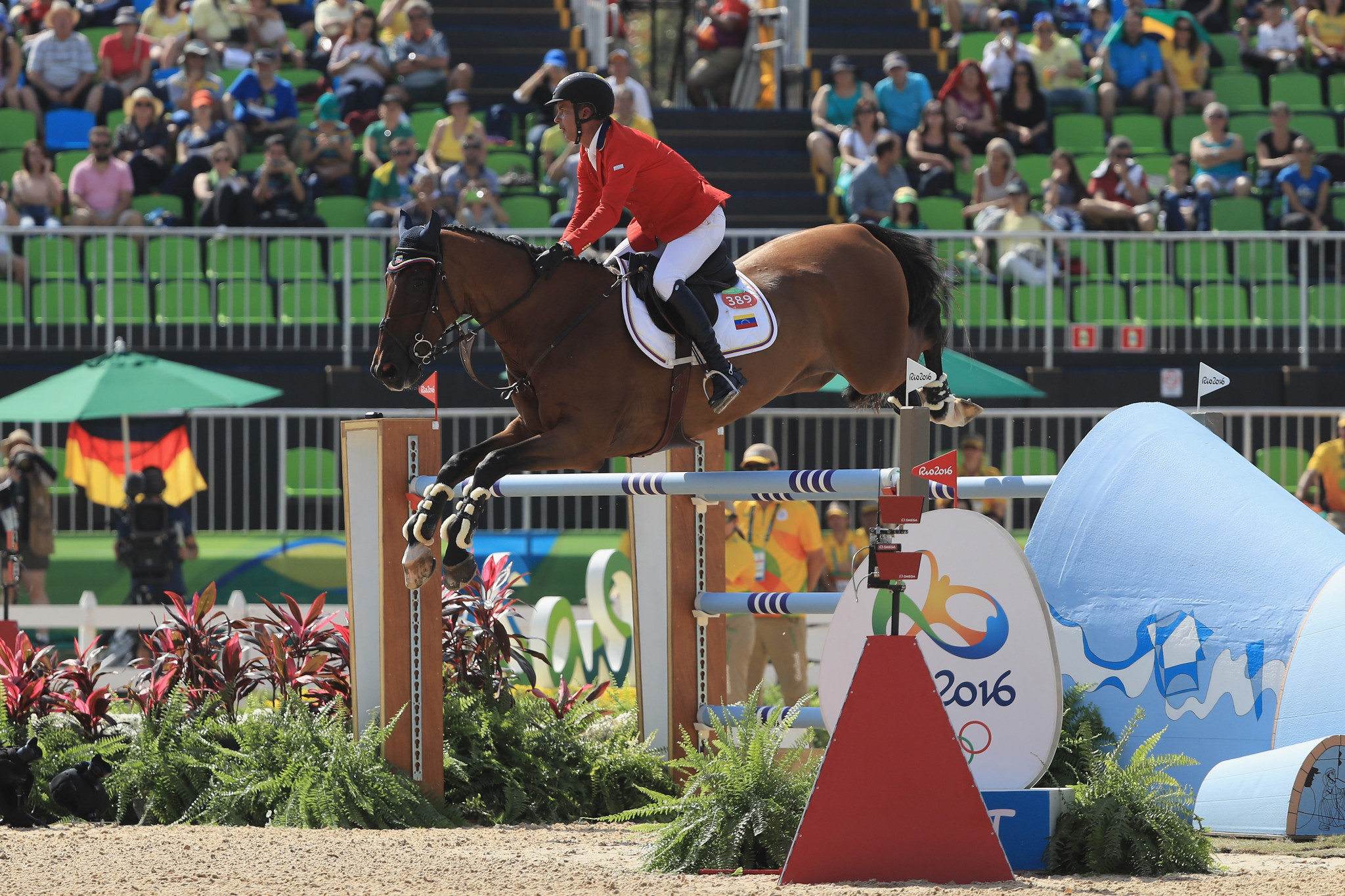 Like other sports, equestrian faces the challenge of expanding its international reach while keeping within Olympic quotas ©Getty Images