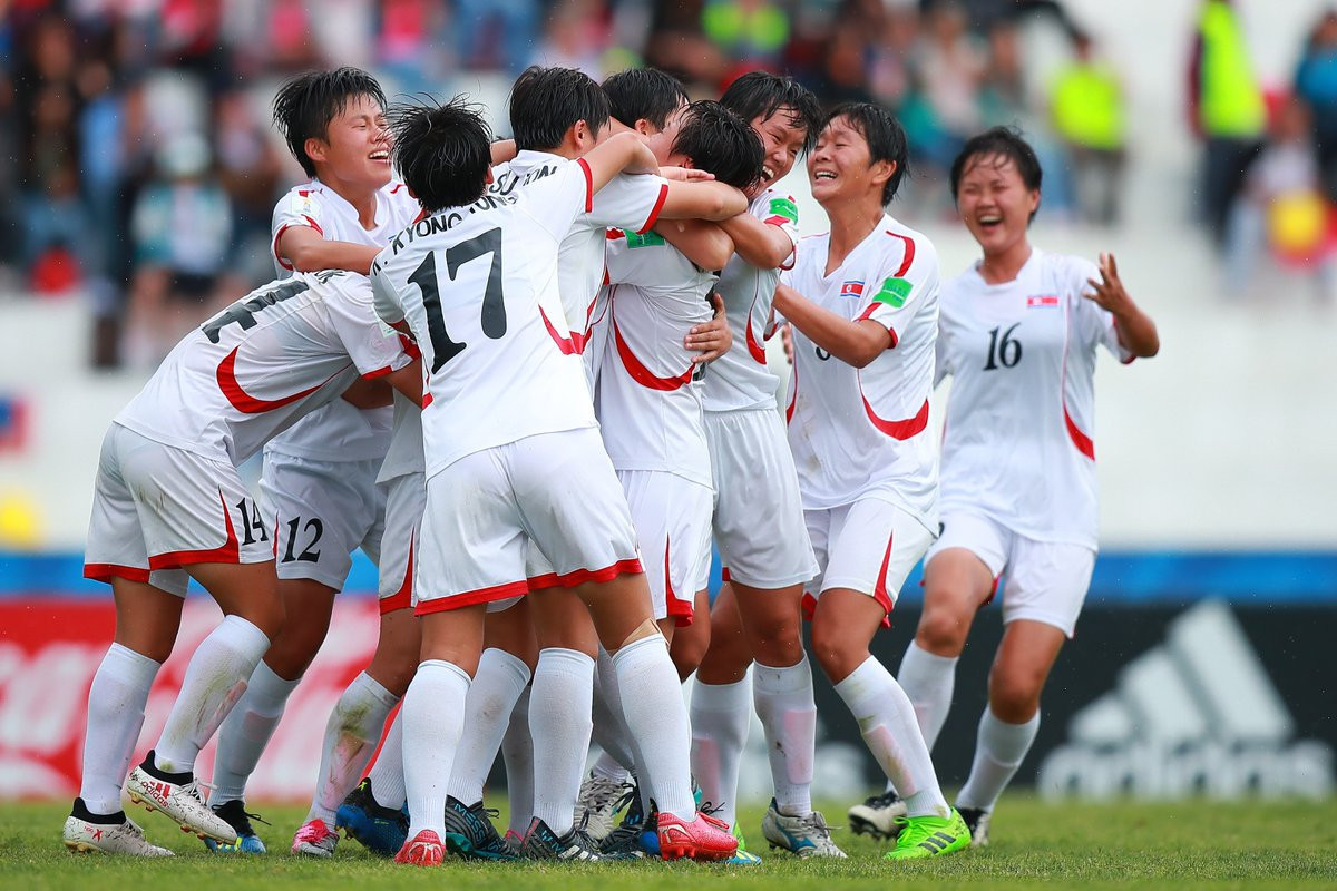 Defending champions North Korea get back on track at FIFA Under-17 Women's World Cup
