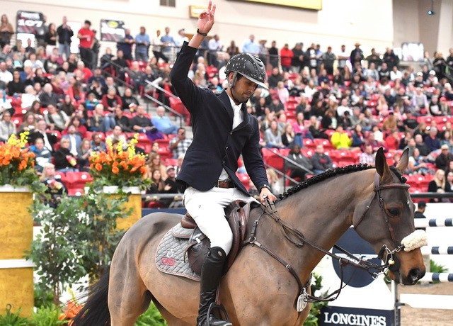 Nassar wins again at Jumping World Cup leg in Las Vegas