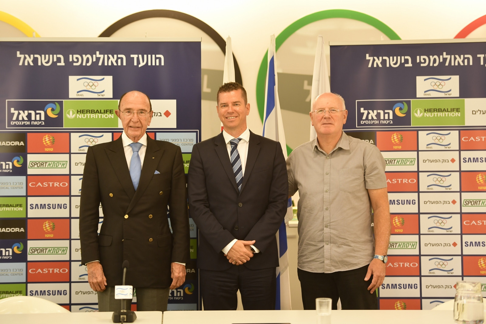 IOC sport director McConnell visits Olympic Committee of Israel