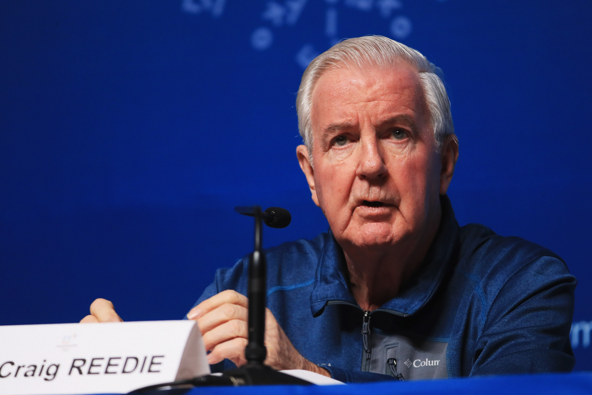 Jack Robertson says WADA President Sir Craig Reedie wanted allegations of widespread Russian doping to