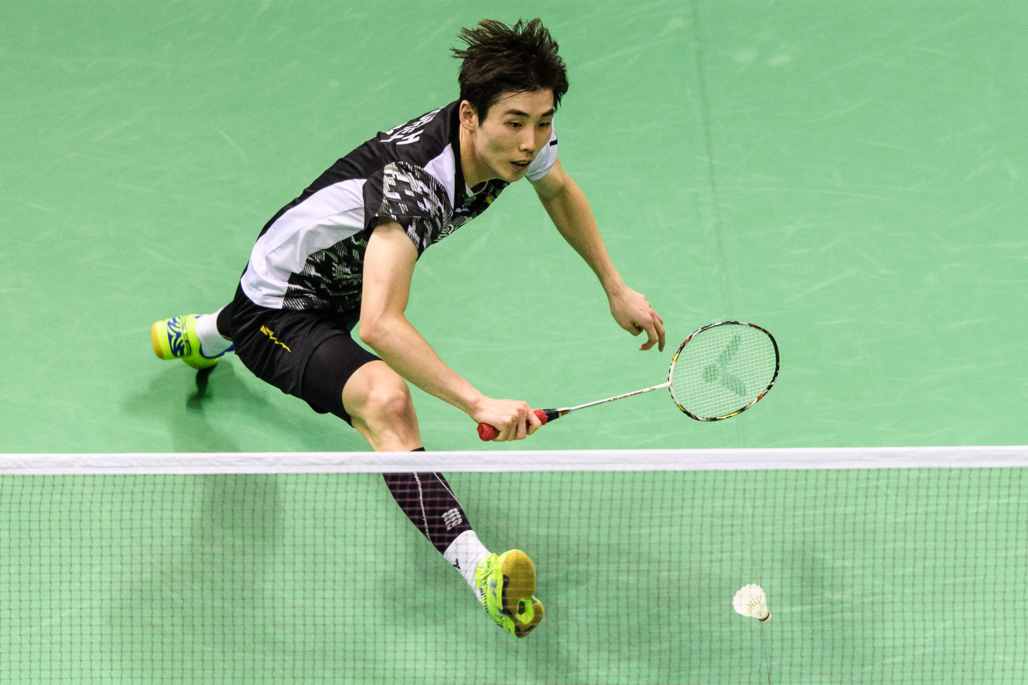 Son Wan Ho of South Korea won the men's BWF Hong Kong Open ©Getty Images