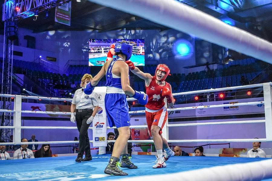 Strong day for hosts India at AIBA Women's Boxing World Championships