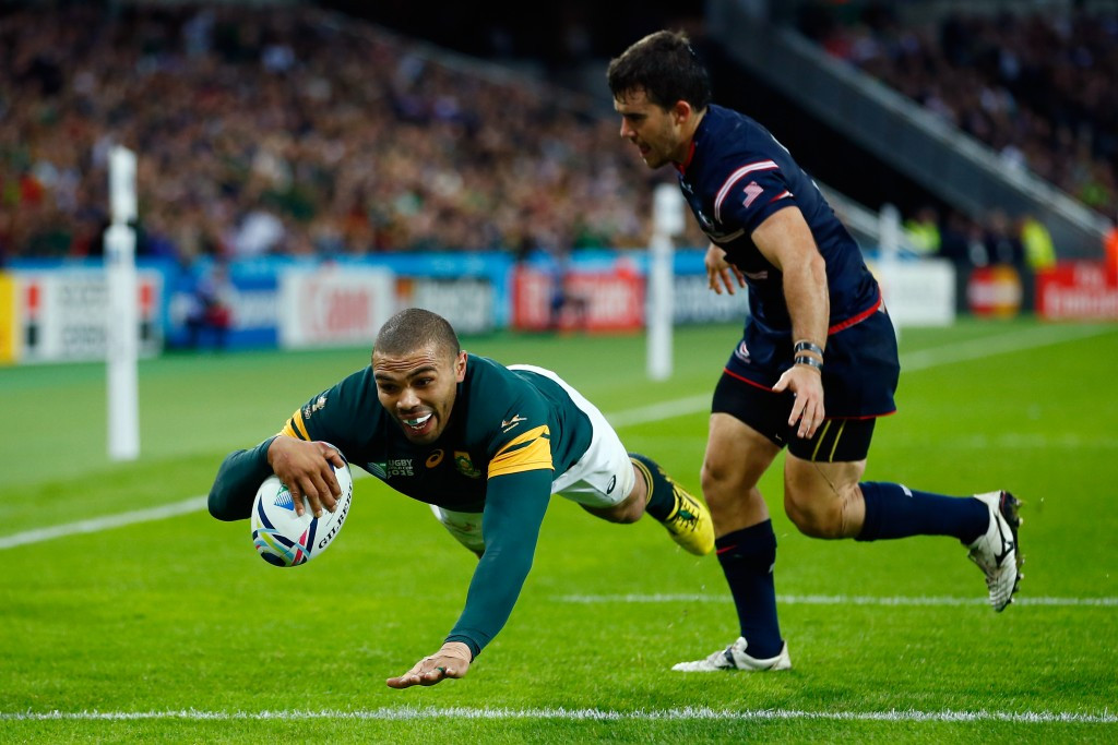 South Africa demolish the United States to progress to Rugby World Cup quarter-finals