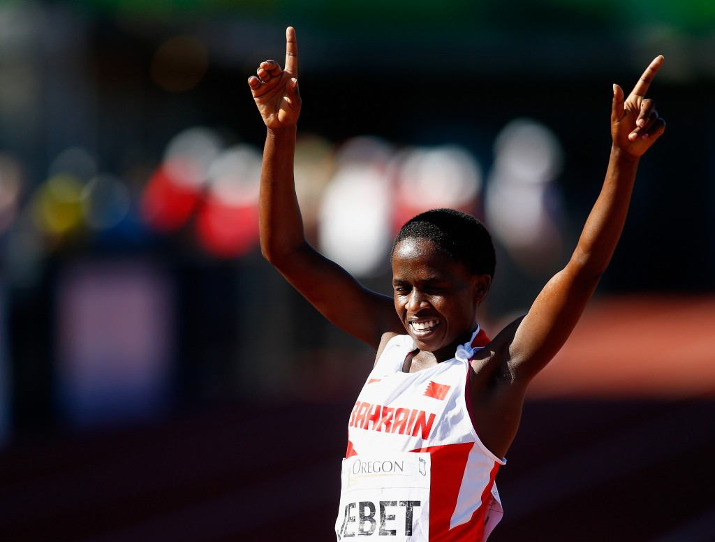 Jebet produces World Military Games record to take women's steeplechase gold