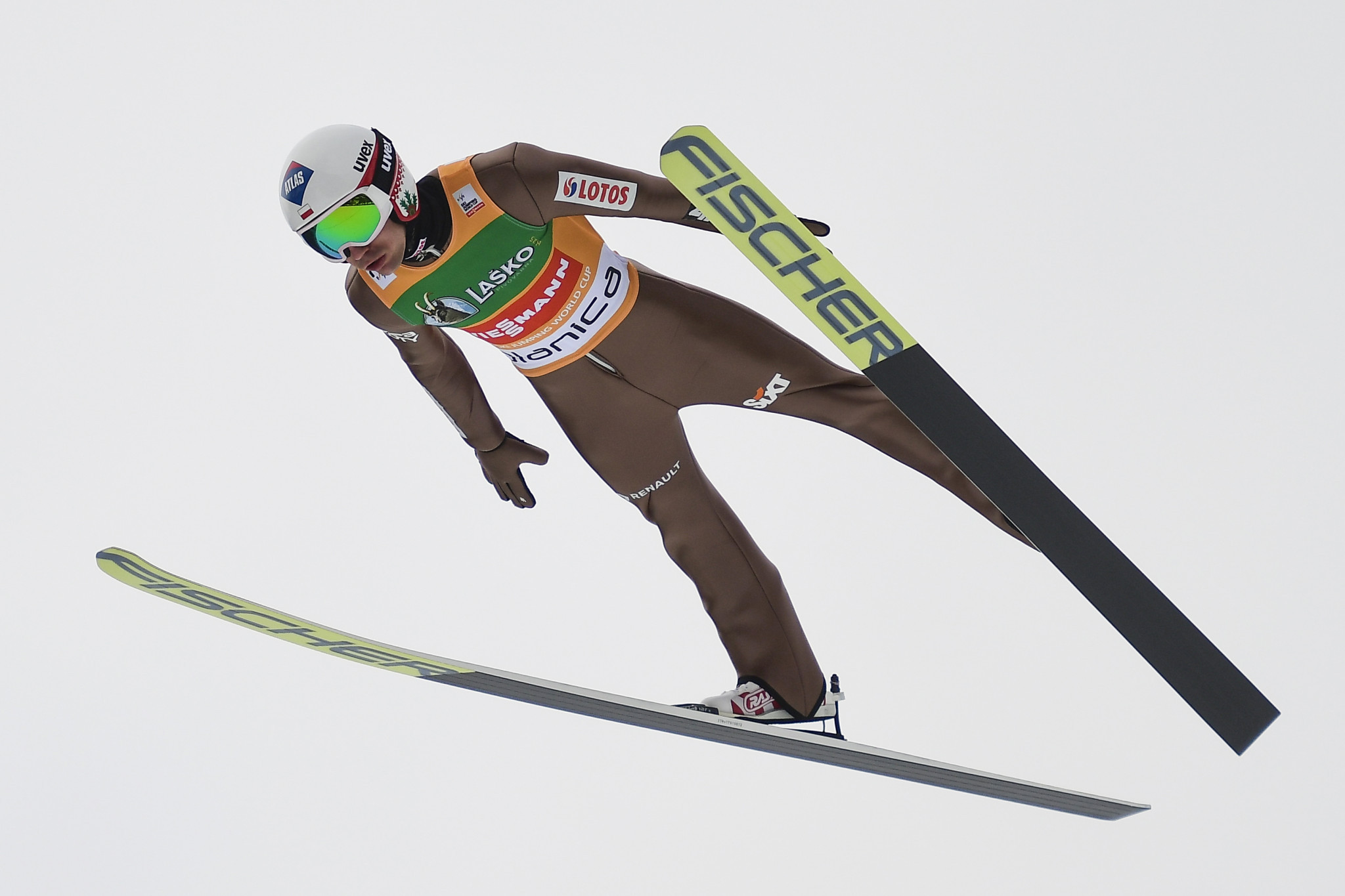 Poland's Kamil Stoch, the winner in Wisla last year, finished fourth ©Getty Images