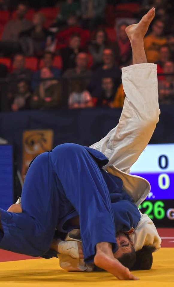 The IJF Grand Prix at The Hague came to an end today ©IJF