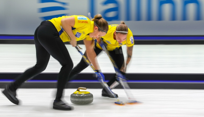 Sweden's Olympic women's champions defeated defending champions Scotland in the European Curling Championships round robin sttage - but later lost to Switzerland ©World Curling