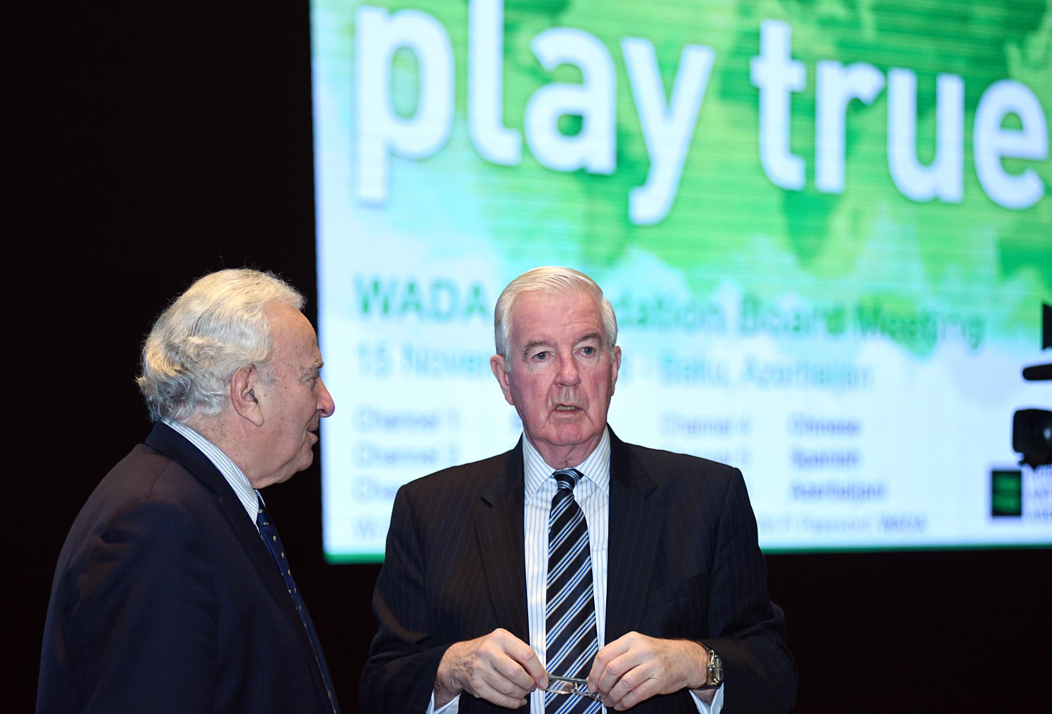 WADA President Sir Craig Reedie was in bullish mood in Baku ©Getty Images