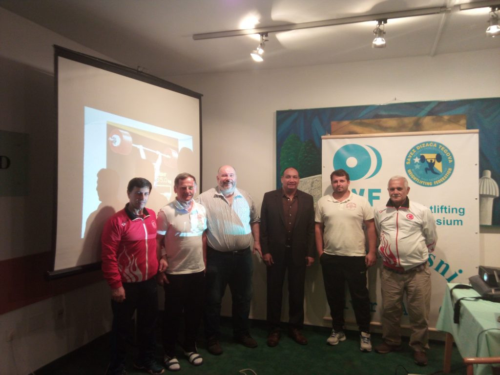 Seminar for weightlifting coaches and technical officials held in Bosnia and Herzegovina