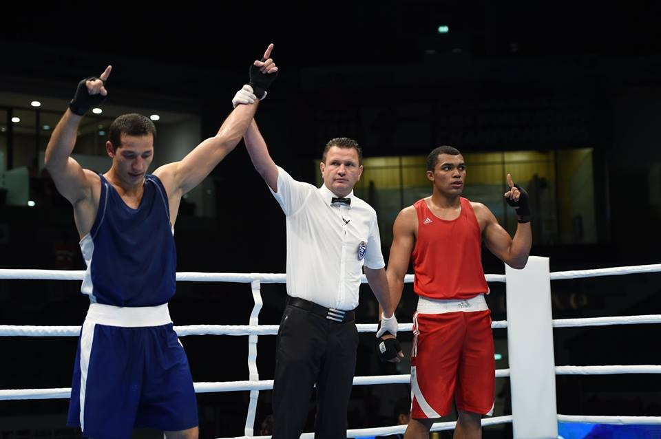 Light heavyweight Elshod Rasulov claimed the second of Uzbekistan's three wins on day two of the AIBA World Boxing Championships ©AIBA/Facebook
