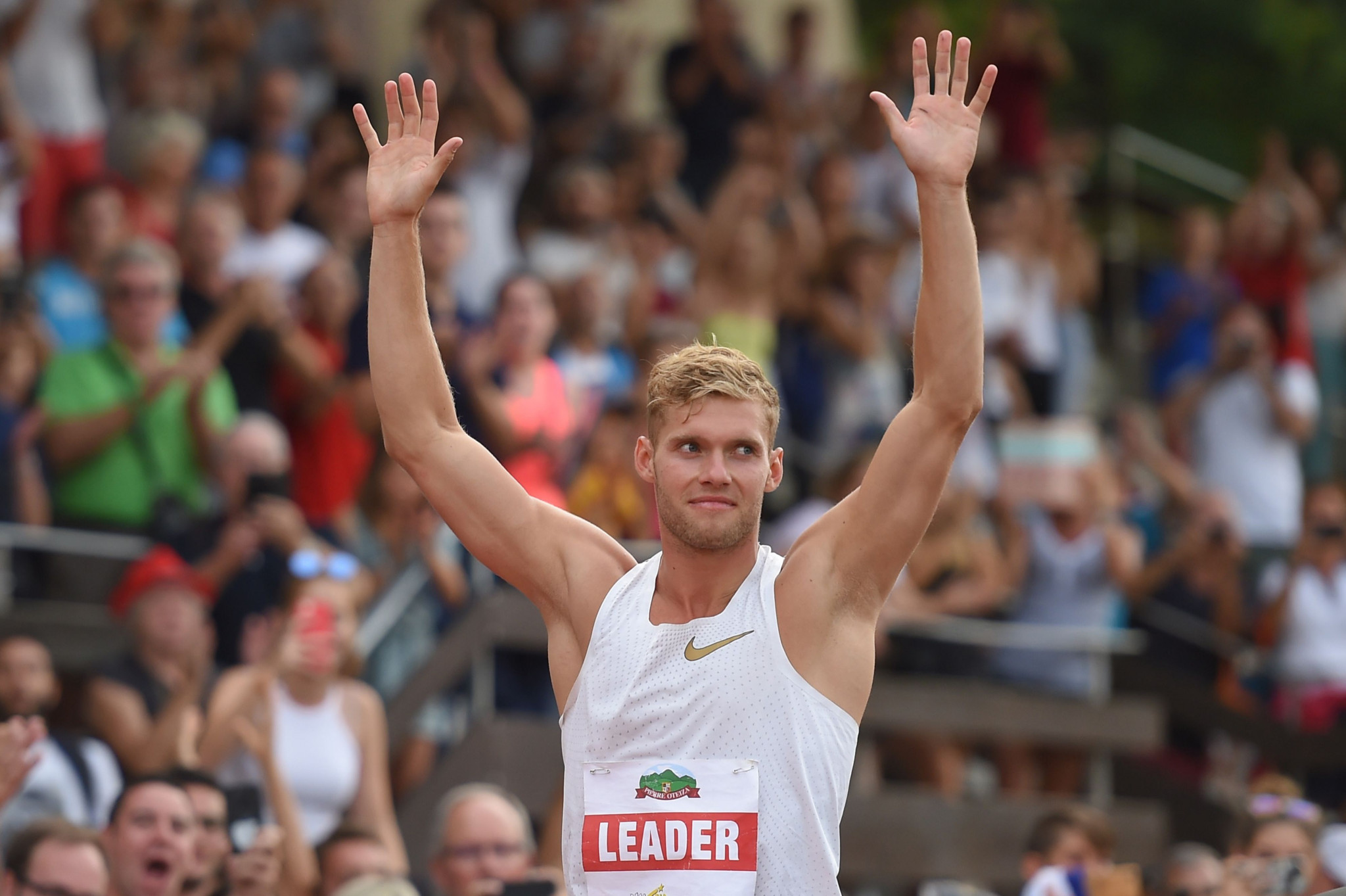 Kevin Mayer is the decathlon world record holder ©Getty Images