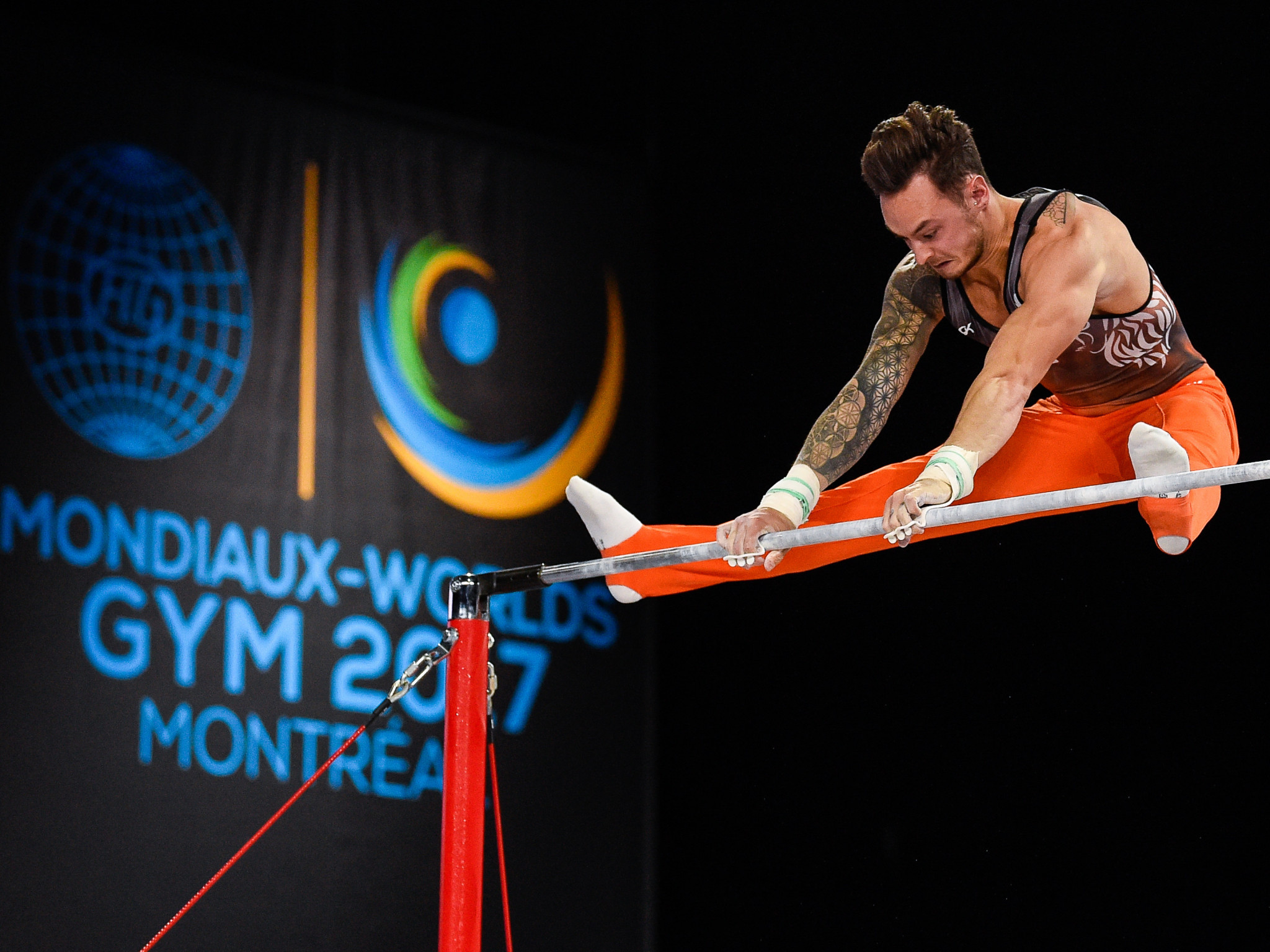 Data was collected at the 2017 Artistic Gymnastics World Championships to help the FIG and Fujitsu develop their new judging support system ©Getty Images