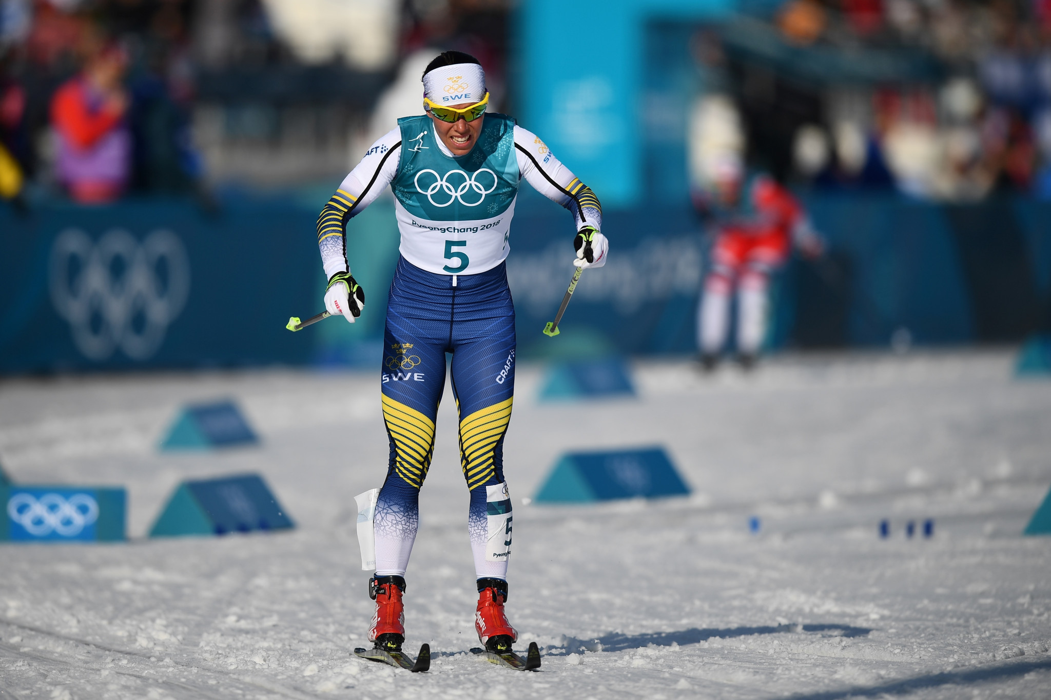 Three-time Olympic gold medal-winning cross-country skier Charlotte Kalla is among the ambassadors named ©Getty Images