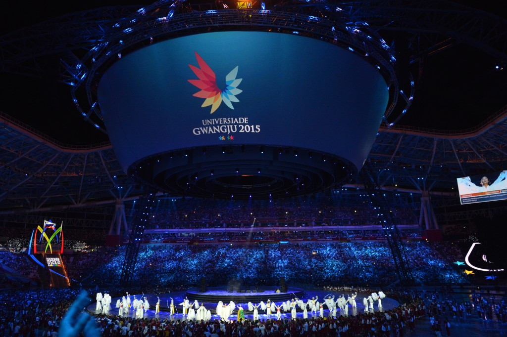 Tickets for the Gwangju 2015 Universiade are now on sale