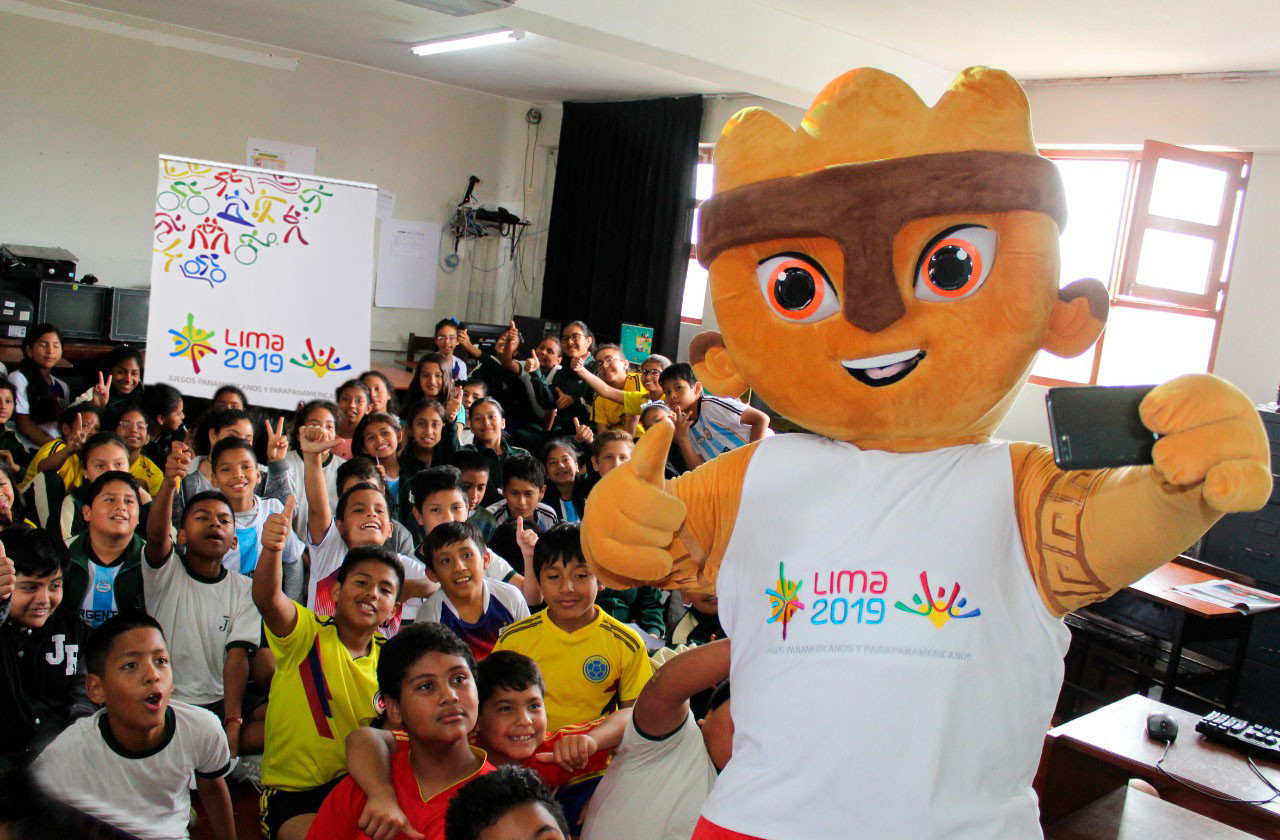 Lima 2019 representatives visit local school as efforts to crank up excitement for Pan American Games continue