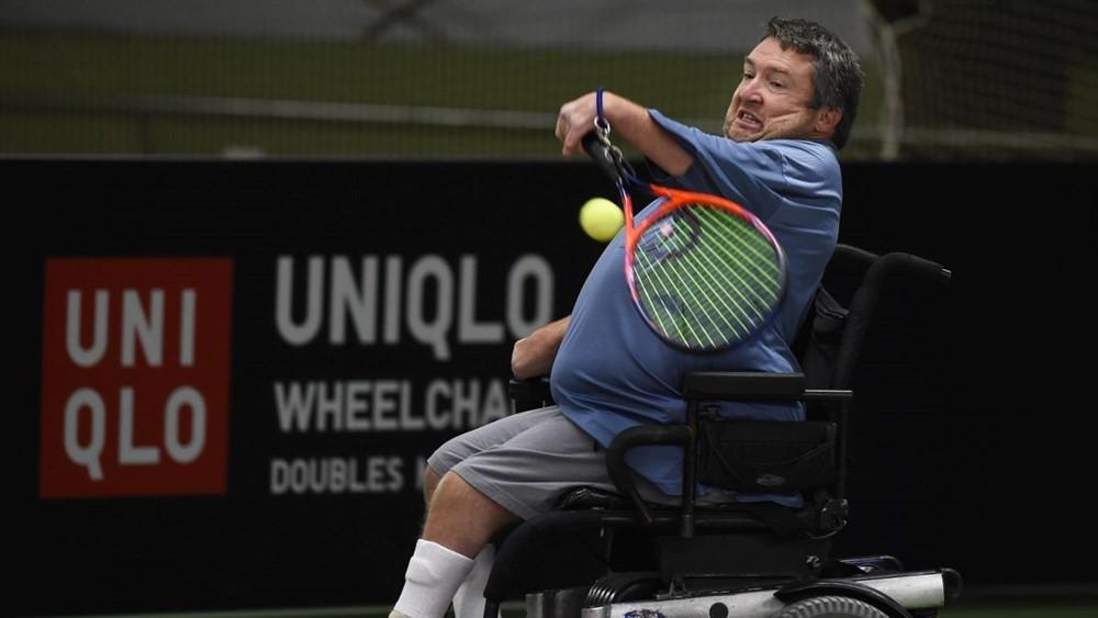American Taylor named winner of wheelchair tennis' UNIQLO Spirit Award