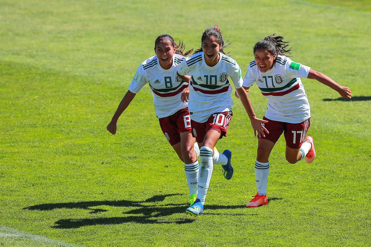 Draw sees Japan and Mexico through to last eight of FIFA Under-17 Women's World Cup