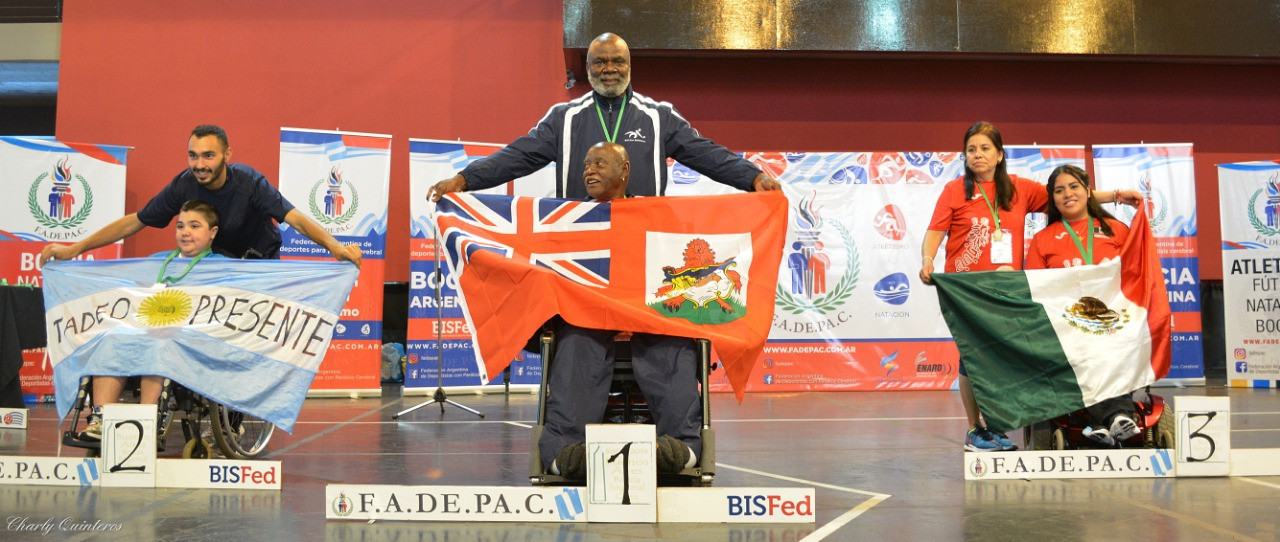 Septuagenarian from Bermuda makes history at Boccia Regional Open in Buenos Aires