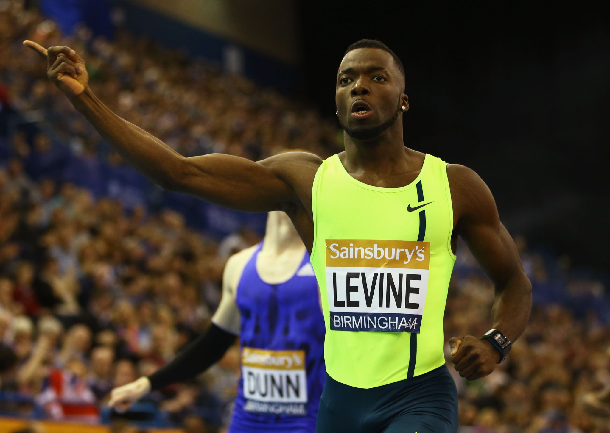 British sprinter Levine banned for four-years after positive drugs test