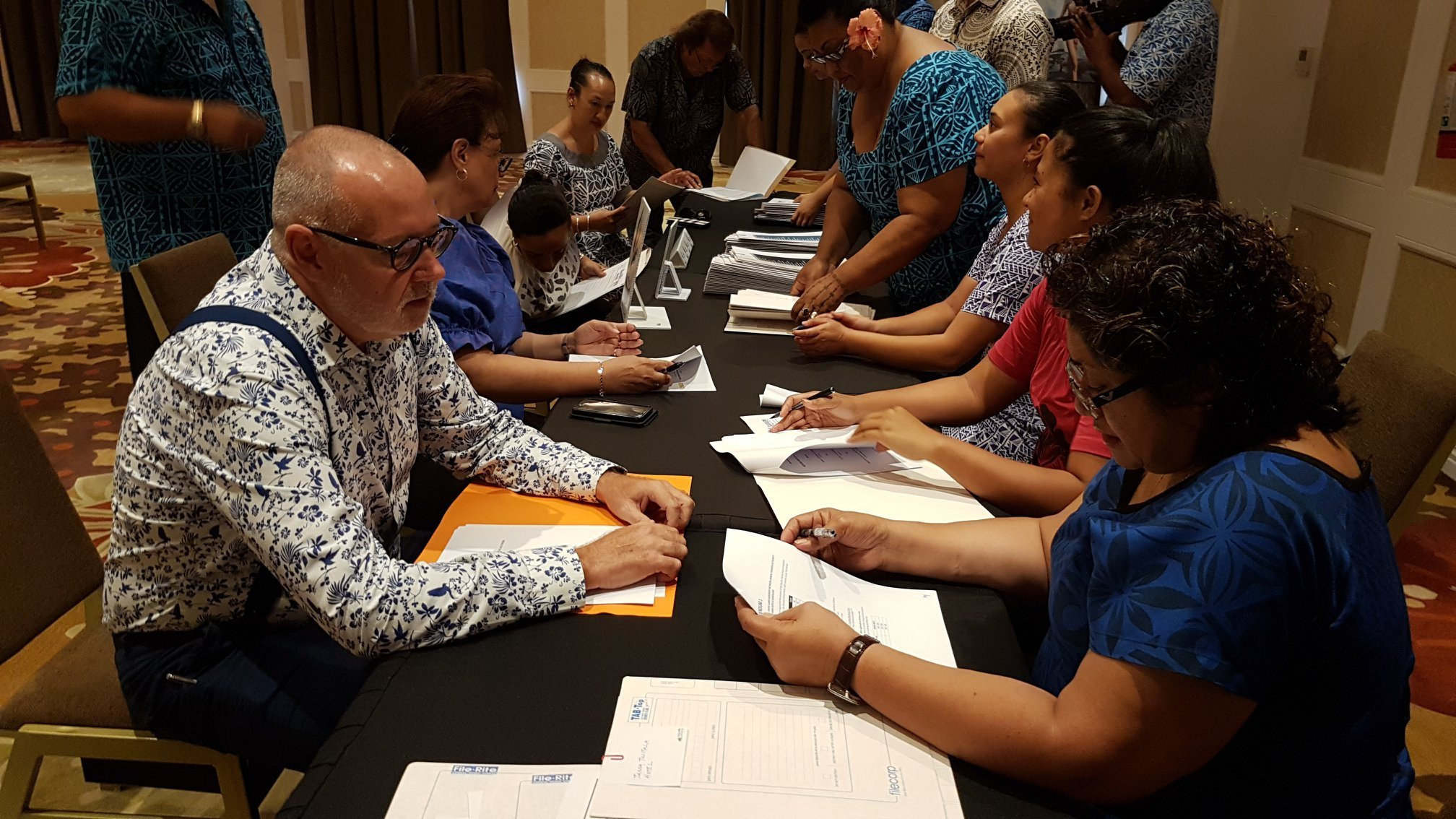 The event to mark the signing of the Memorandum of Agreement to ensure there is enough accommodation available in Samoa for next year's Pacific Games was well attended ©Samoa 2019 Pacific Games/Facebook