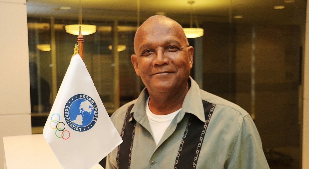 """Lima 2019 Coordination Commission chair Keith Joseph has praised the """"world standard"""" quality of sports infrastructure under construction for the Pan American and Parapan American Games ©Lima 2019"""