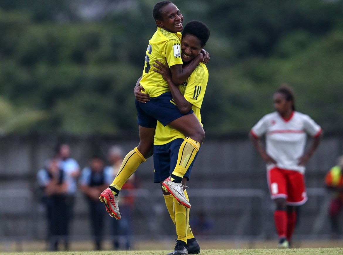 Papua New Guinea maintain perfect start to OFC Women's Nations Cup