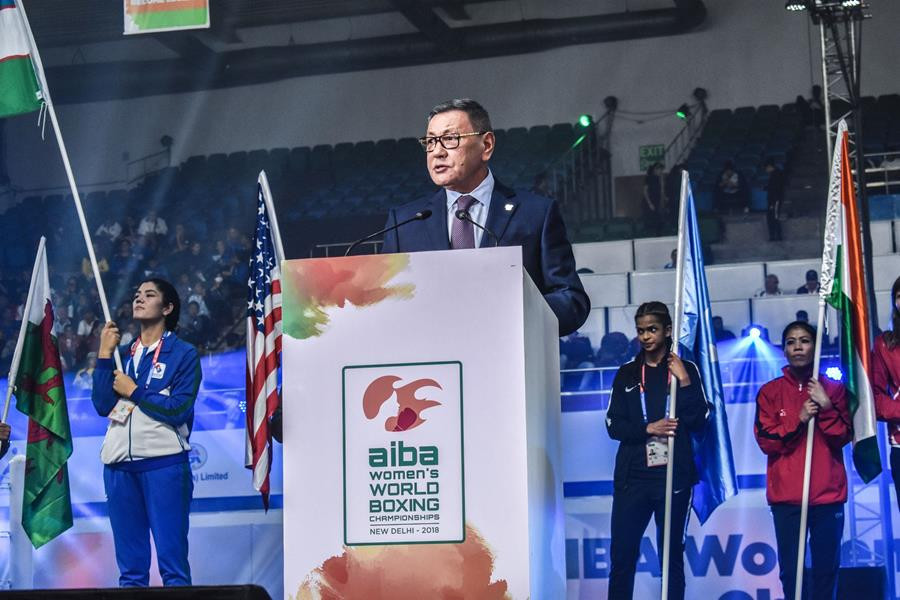 Gafur Rakhimov declared his intention to stand down as AIBA President amid an ongoing IOC inquiry ©AIBA