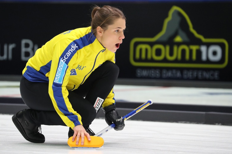 Sweden ensured their progression through to the women's semi-finals ©WCF