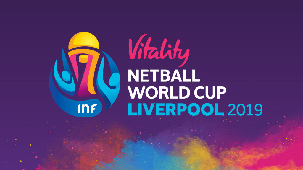 As the title sponsor Vitality has been added to the official branding of the tournament ©Netball World Cup