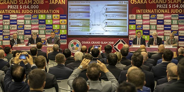 Stars out in force for IJF Osaka Grand Slam