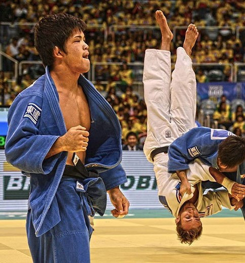 Japan's Shohei Ono, a Rio 2016 Olympic gold medallist and two-time world champion, will be competing in front of a home crowd ©IJF