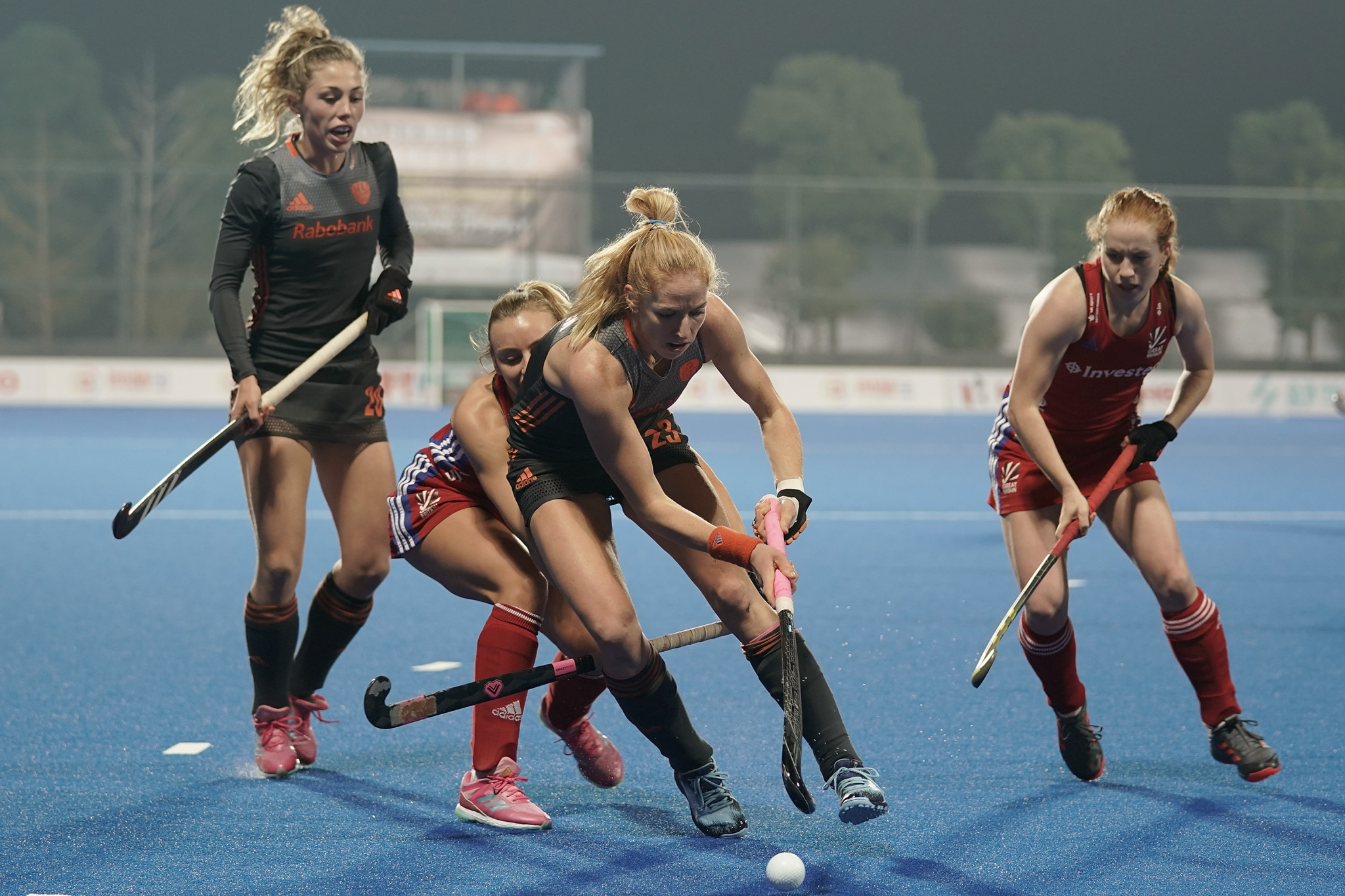 Netherlands book place in final of Women's Champions Trophy with victory over Britain