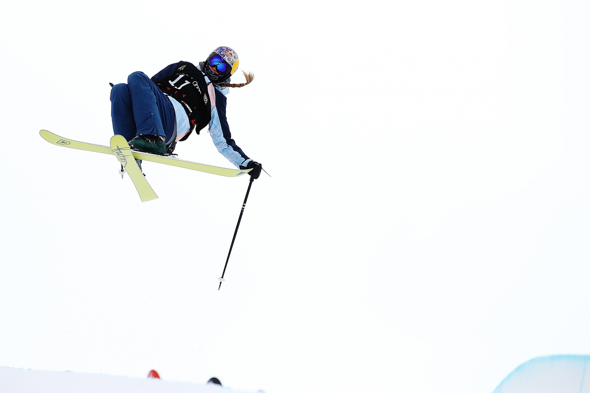 Sildaru tops women's slopestyle qualification round at Freestyle Skiing World Cup