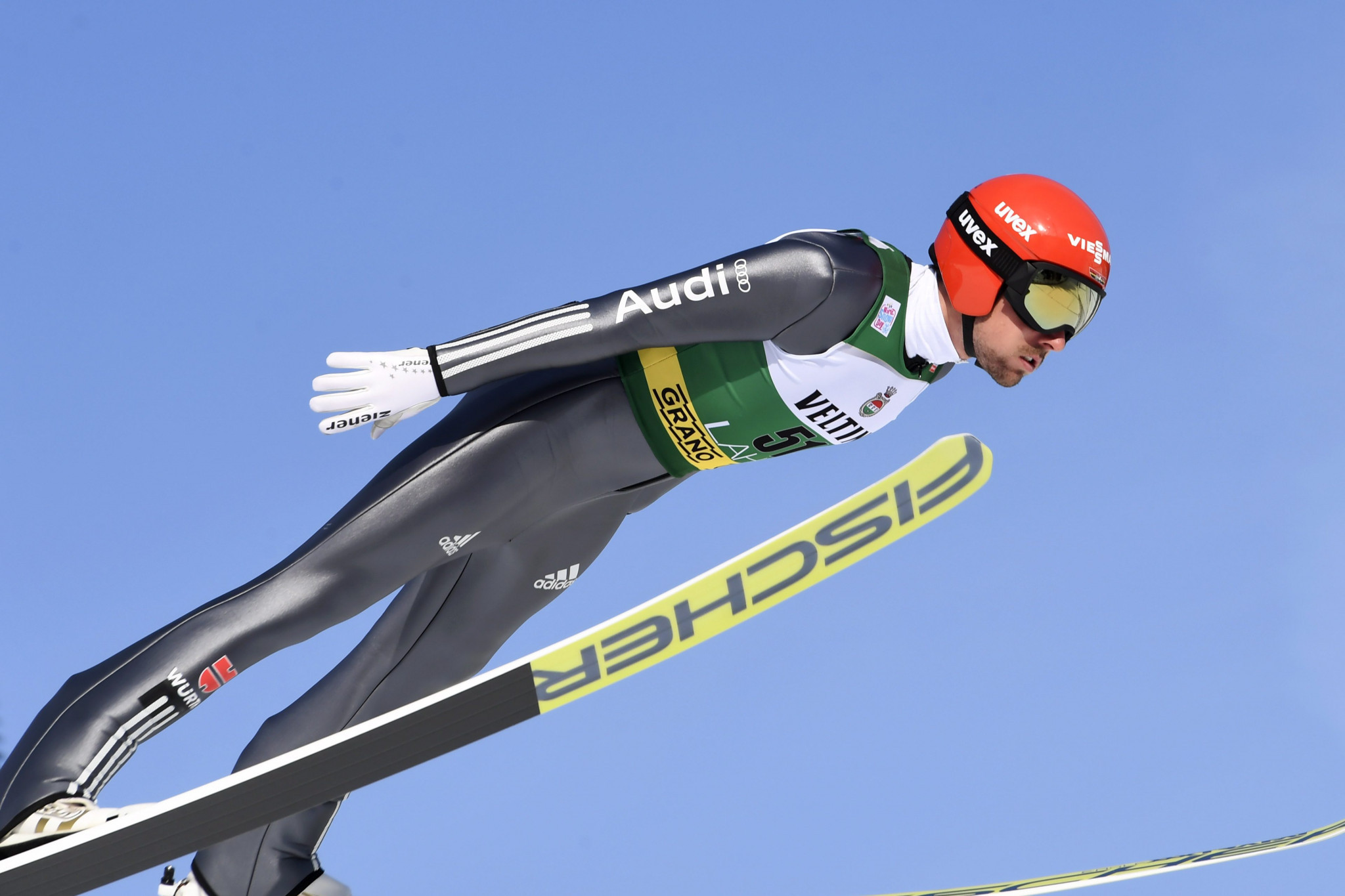 World and Olympic champion Johannes Rydzek is among the participants at the Nordic Combined World Cup ©Getty Images