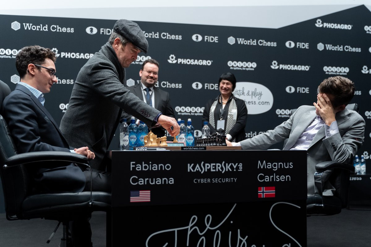 Carlsen and Caruana draw yet again in World Chess Championship final