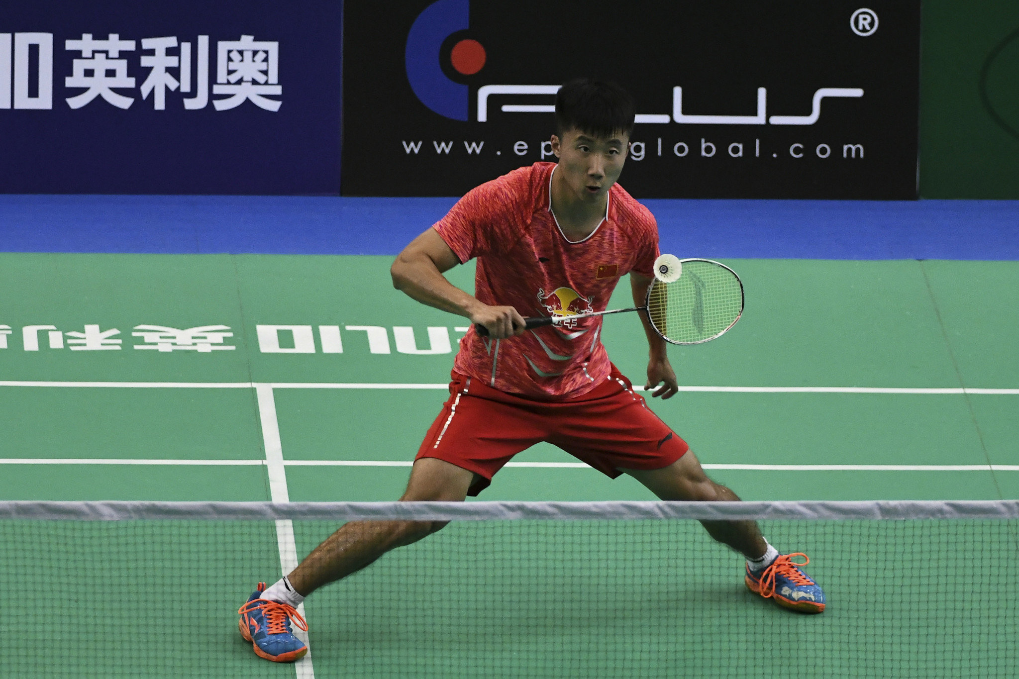 China's Lu Guangzu is through to the semi-finals of the men's singles event ©Getty Images