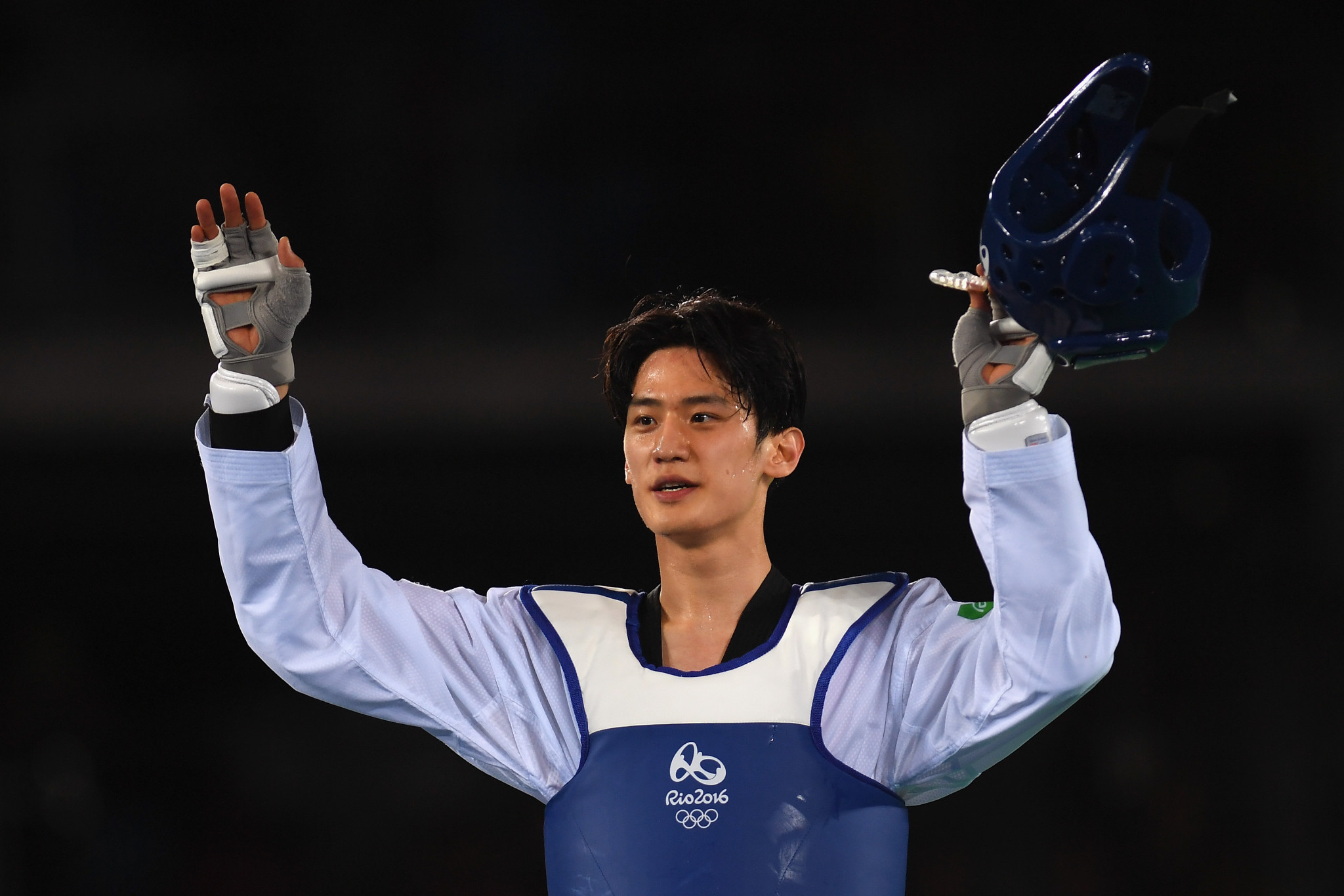 Three-time world champion Dae-hoon Lee added to South Korea's gold medal tally ©Getty Images