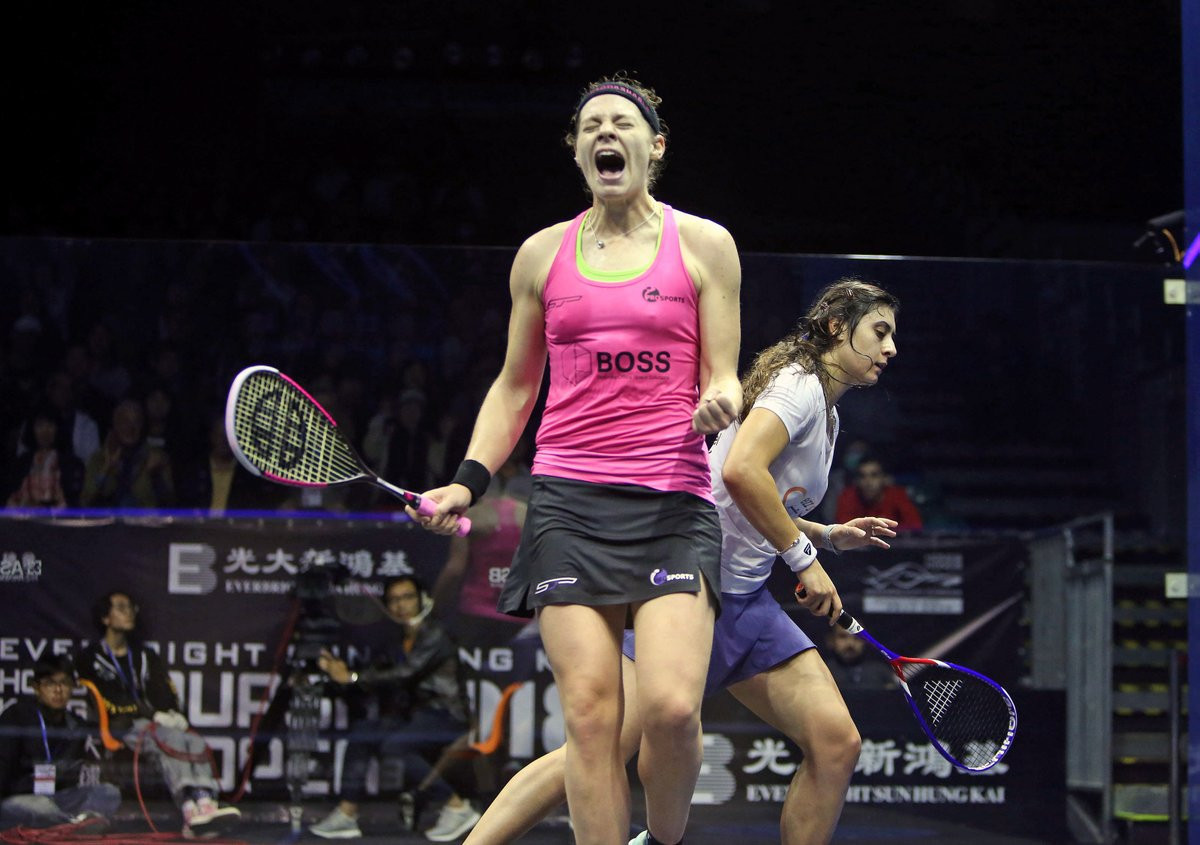 Defending champion loses world number one status after defeat at PSA Hong Kong Open