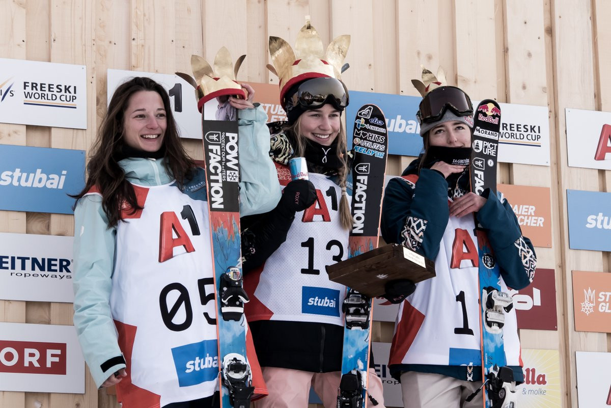 Sildaru wraps up women's slopestyle win at FIS Freestyle Skiing World Cup