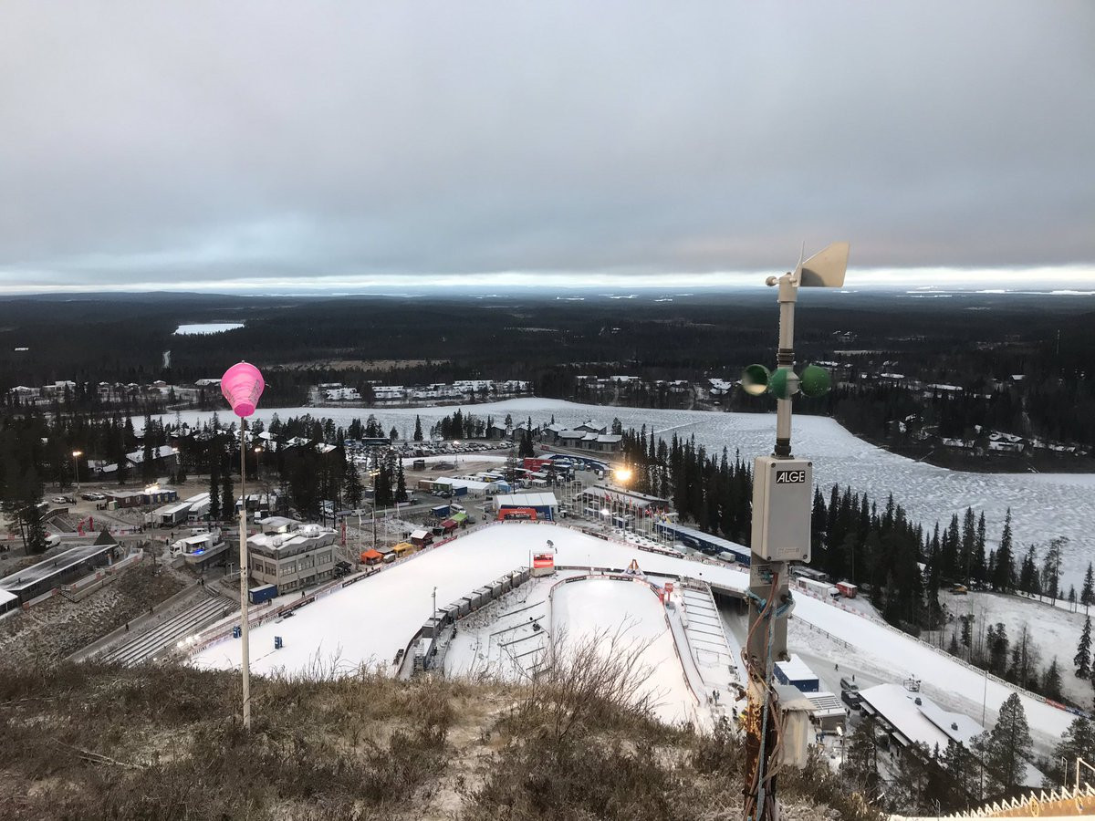 High winds force cancellation of qualifying action at FIS World Cup events in Ruka