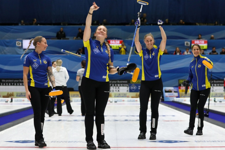 Olympic champions Sweden to face Switzerland in women's final at European Curling Championships