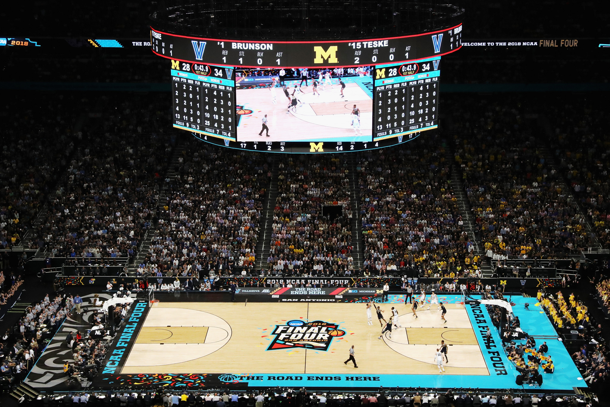 BodyArmor will be the official sponsor of NCAA Championships, including basketball's