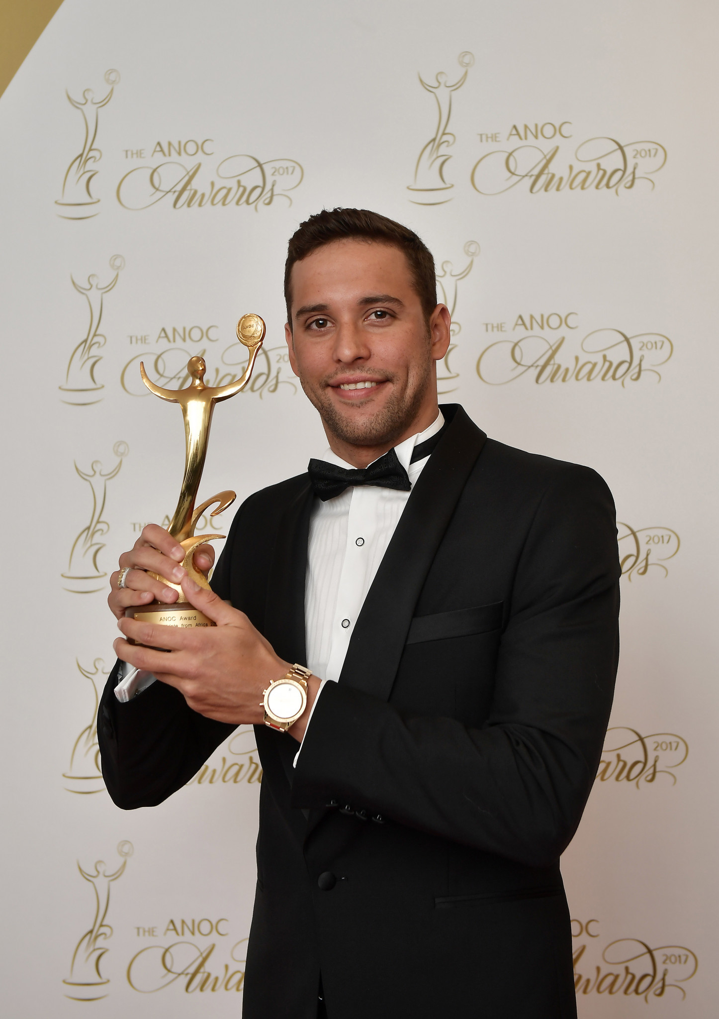 South African swimmer Chad le Clos was among last year's winners  ©Getty Images