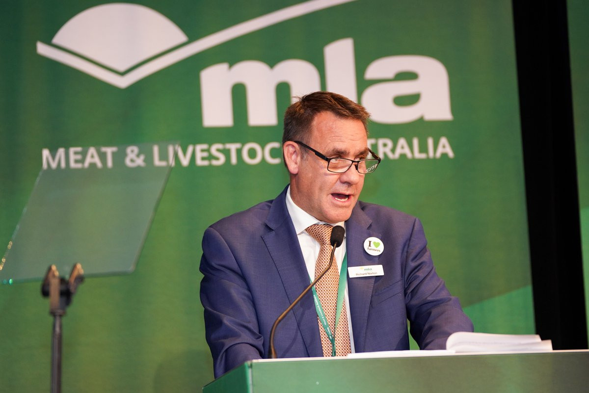 Managing director of Meat and Livestock Australia, Richard Norton, has announced that Australian Beef will be an official partner of the 2020 Australian Olympic team ©MLA