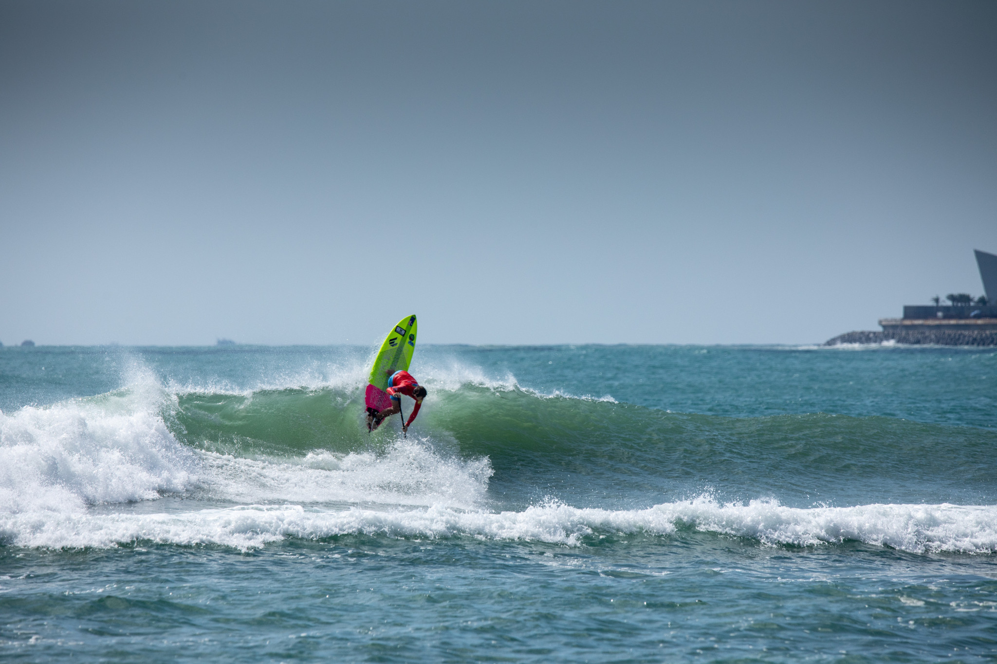 Near perfection from Maskell at ISA World SUP and Paddleboard Championships