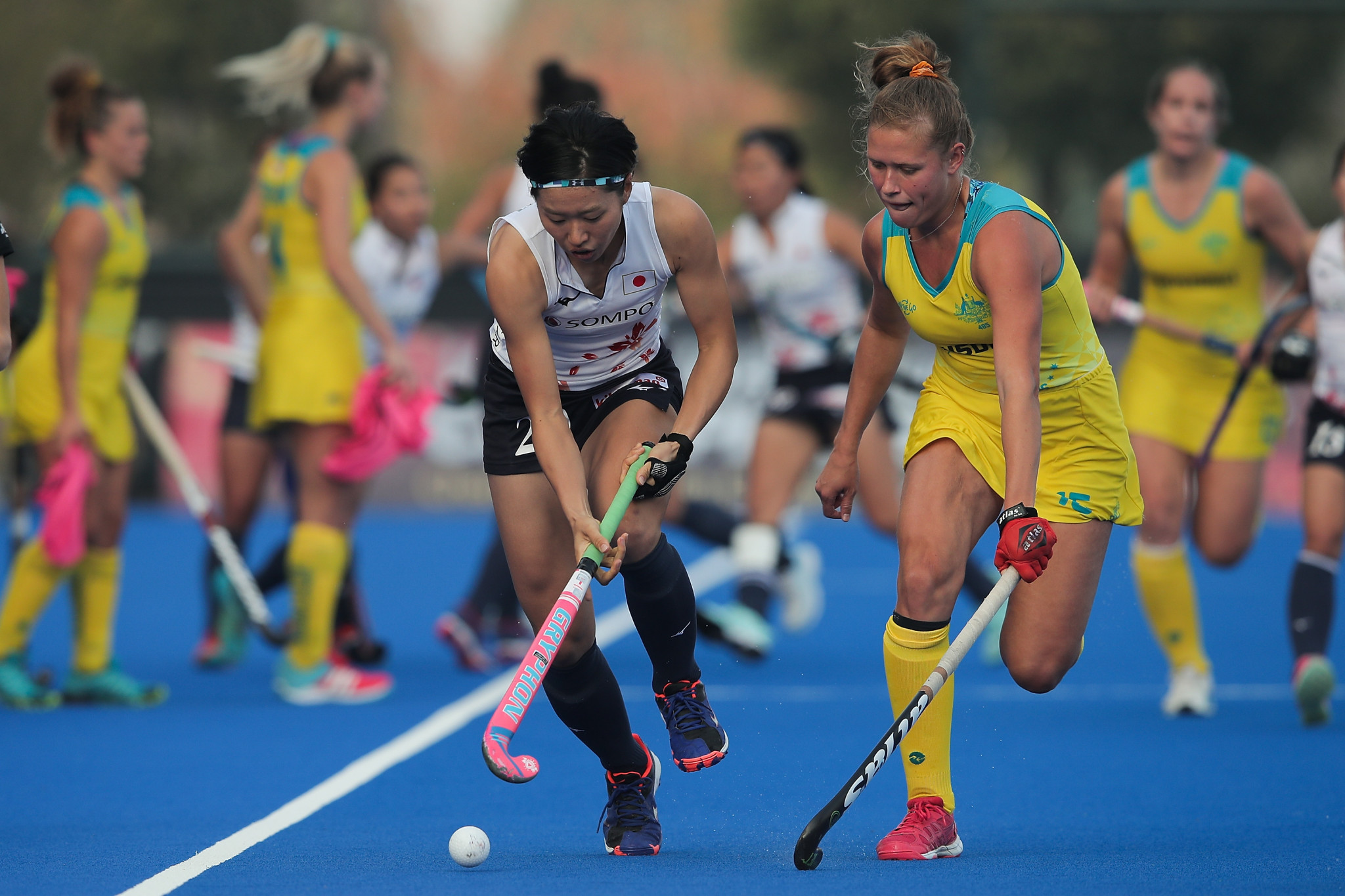 Australia qualify for Women's Hockey Champions Trophy final despite defeat to Japan