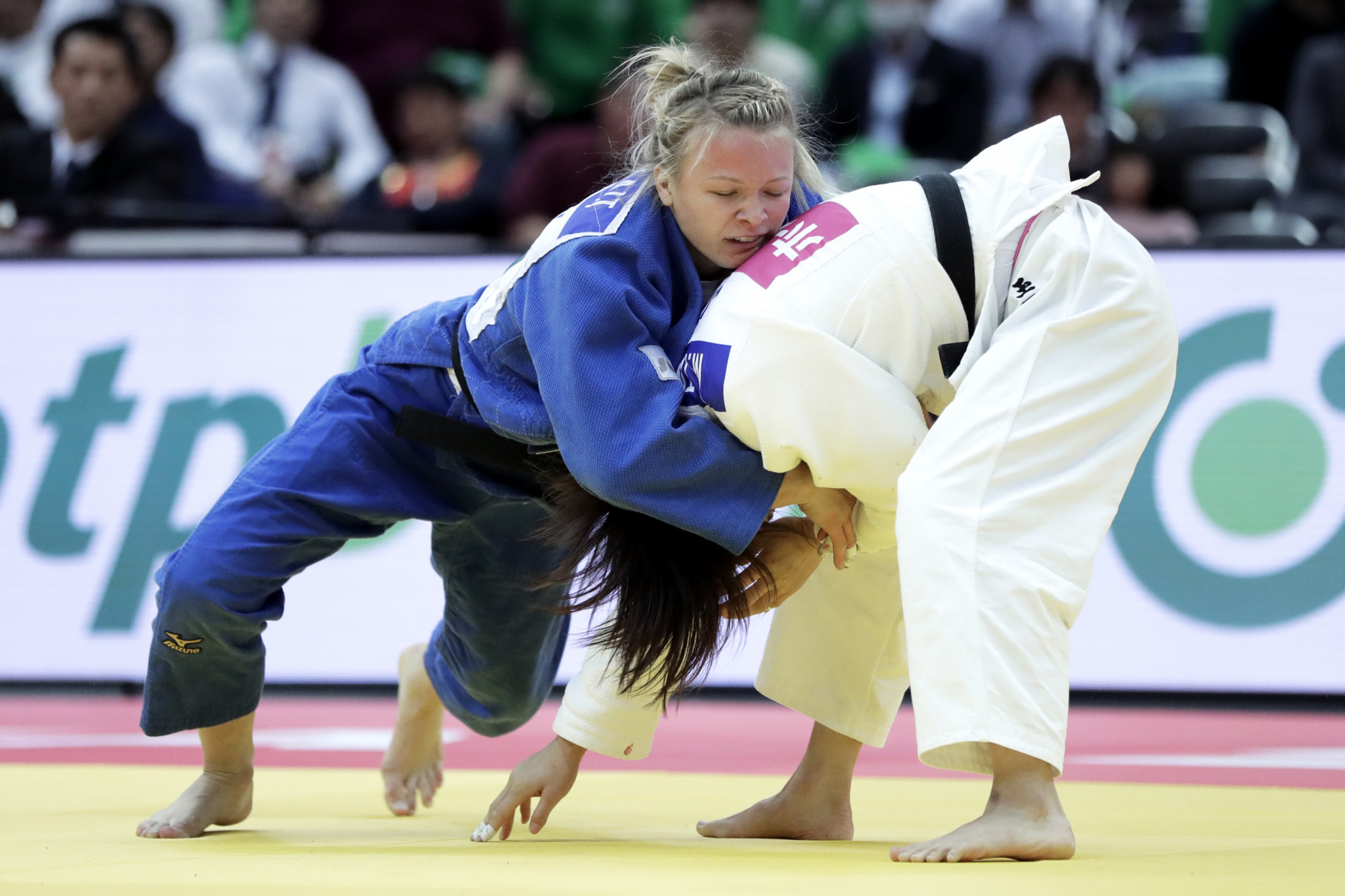 Canada disrupt Japanese gold medal clean sweep on day two of IJF Grand Slam in Osaka