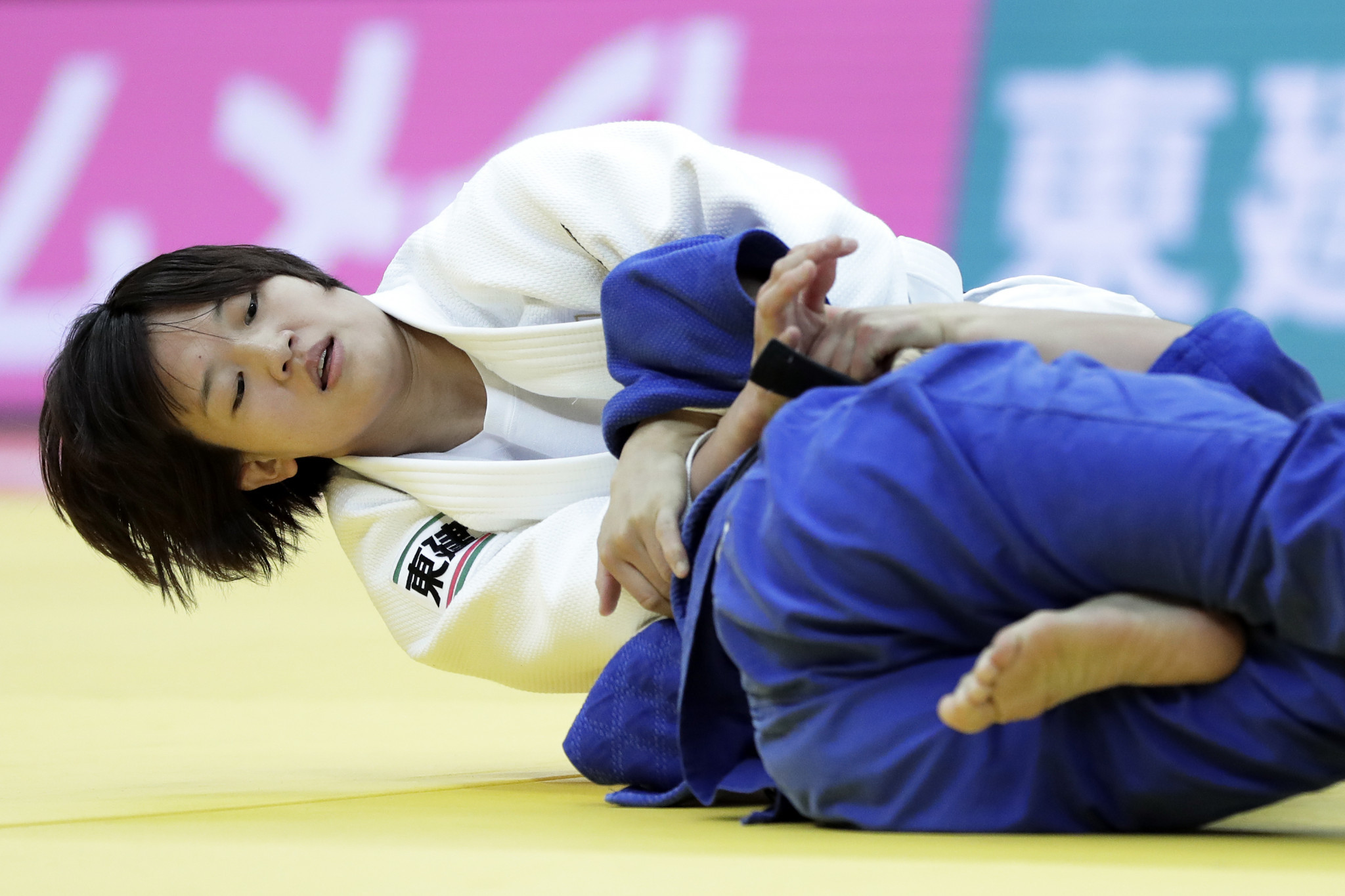 Japan's Chizuru Arai dominated her event as the hosts continued their gold medal haul ©Getty Images
