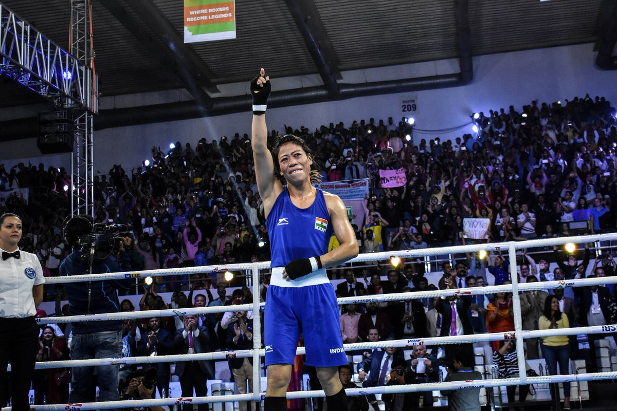 Mary Kom creates history after winning Sixth World Championship Title 2018